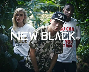 The latest stuff from Swedish brand New Black