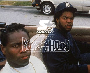Check out the Starter x Boyz N The Hood collection