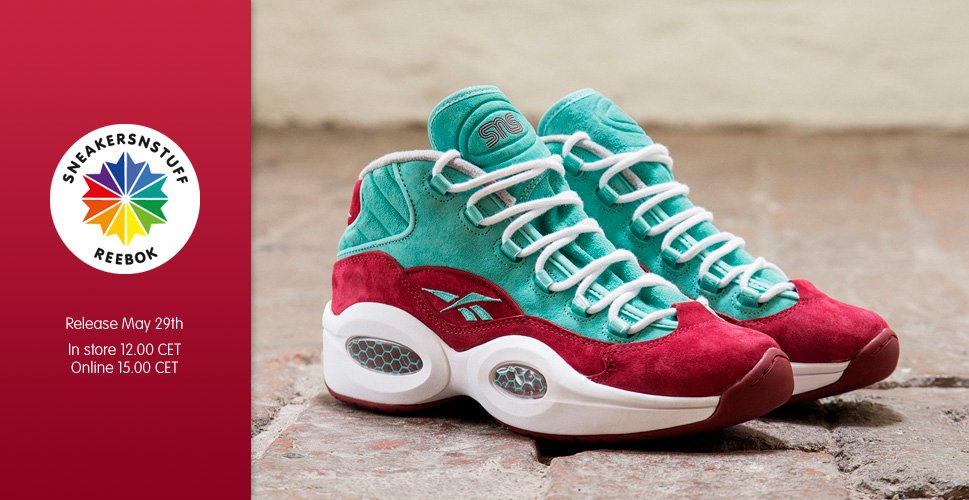 Sneakersnstuff x Reebok Question Mid