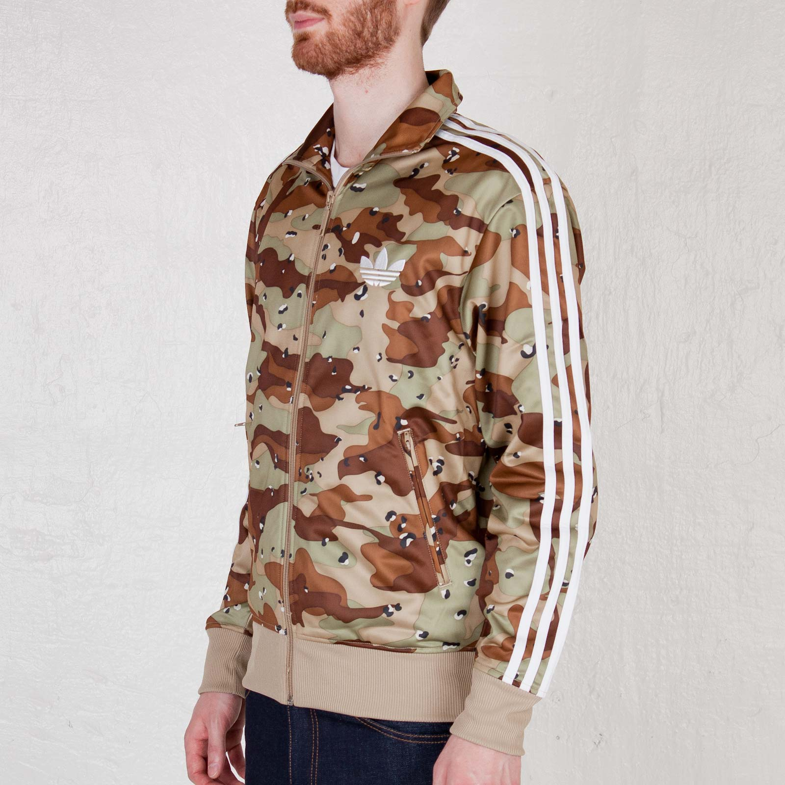 Xl. Clothes, Shoes & Accessories Adidas Originals Firebird Bliss Camo Track Top Size