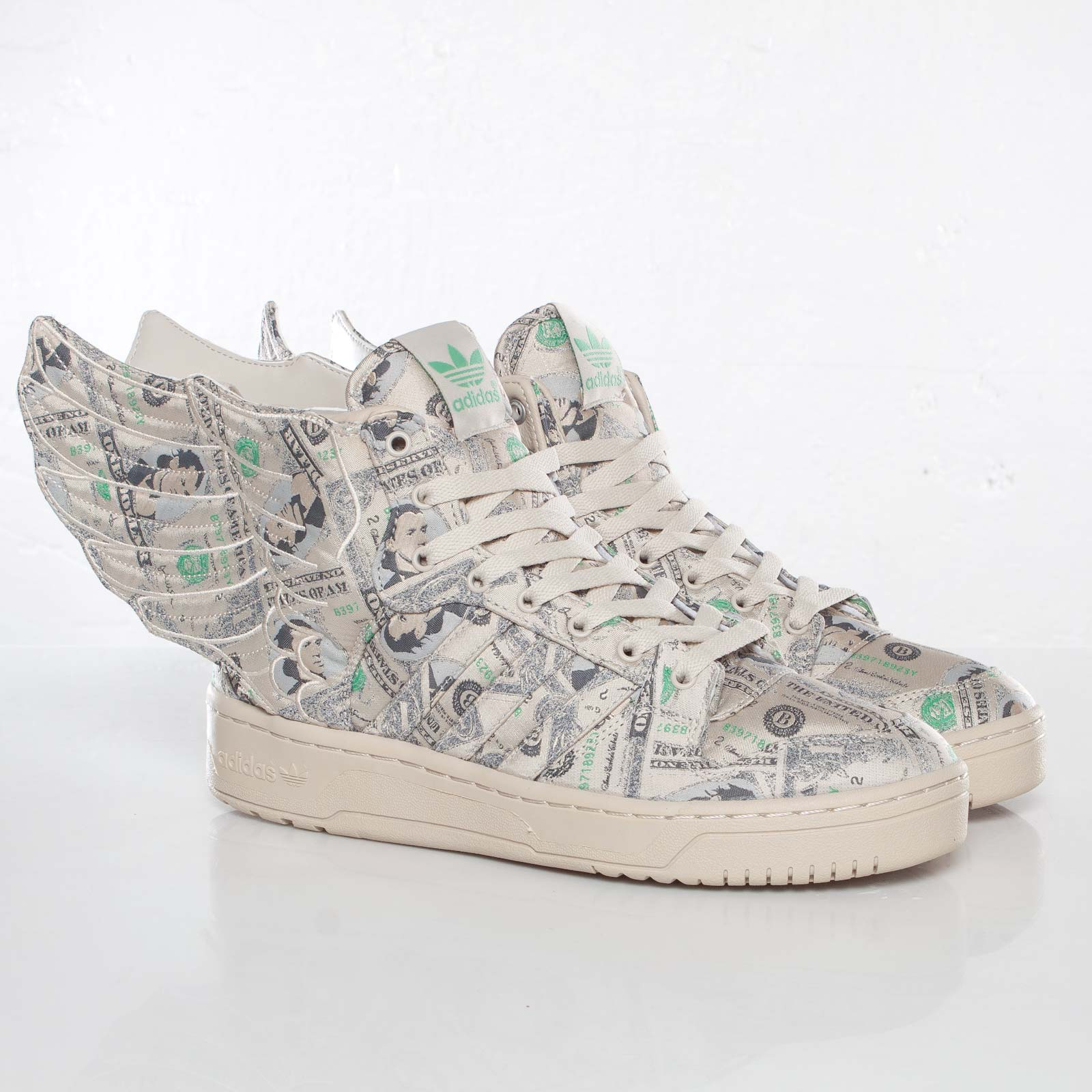 76df8ea1c adidas JS Wings 2.0 Money - G95773 - Sneakersnstuff