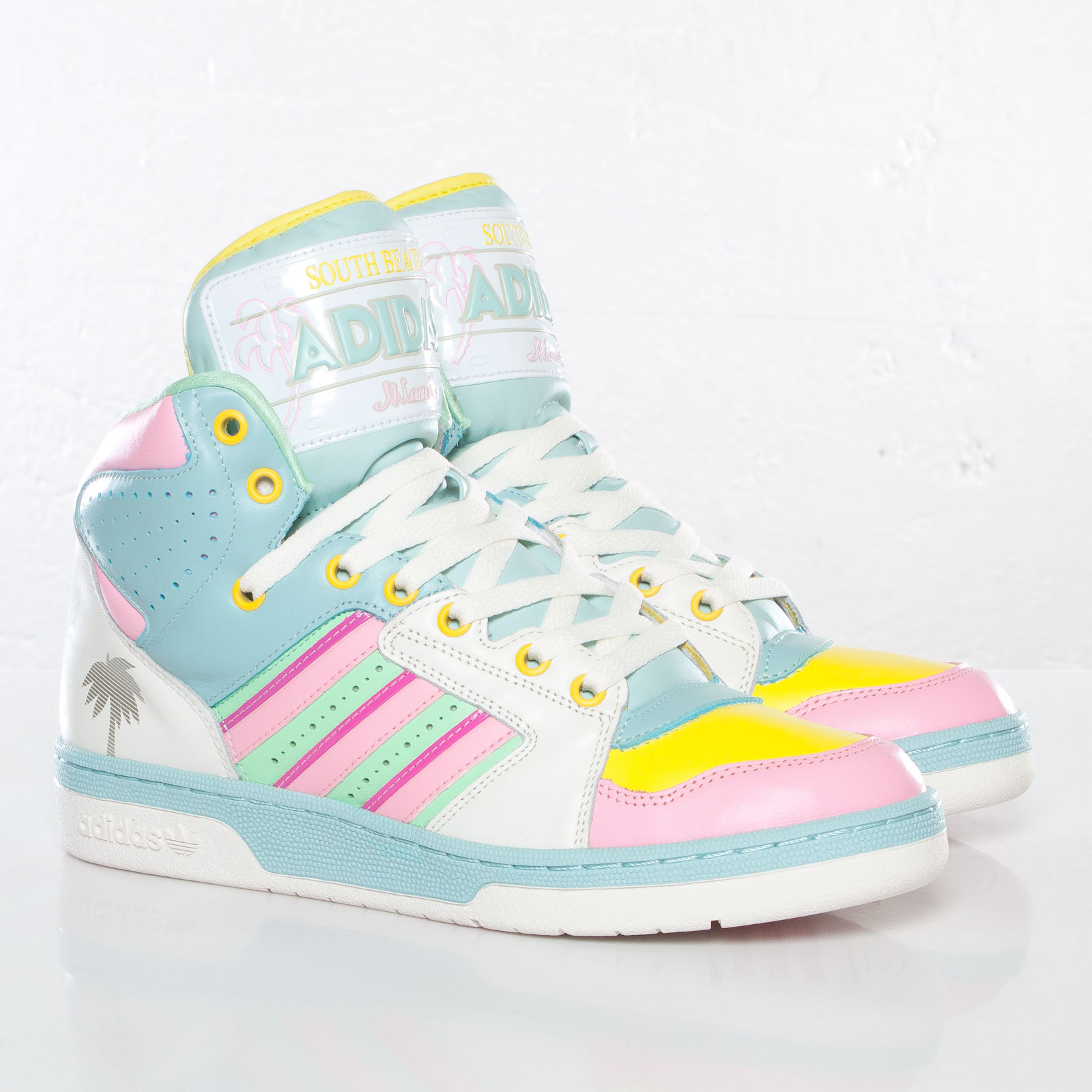 adidas JS License Plate Miami - G95772 - Sneakersnstuff I Sneakers ...