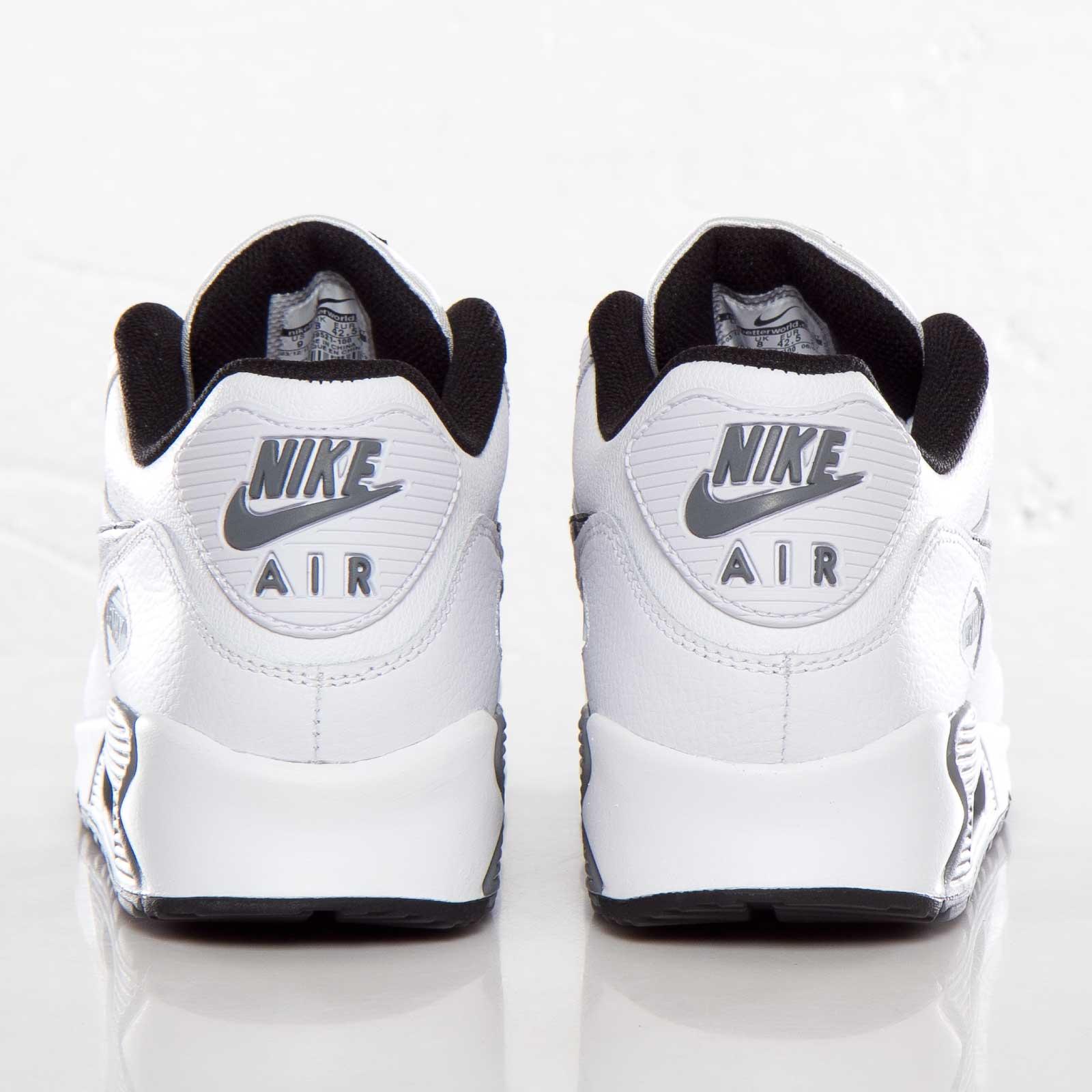 Air Max 90 Essential LTR Nike 599521 100 whiteblack