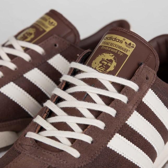 7 Größe braun Beckenbauer Herren Adidas 8 Freizeit