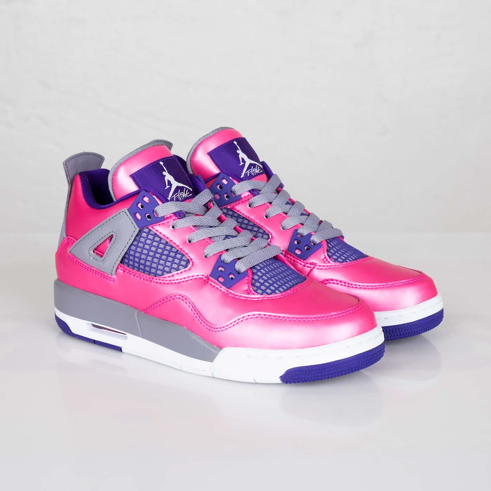 3bd6e0b0daec Jordan Brand Girls Air Jordan 4 Retro (GS) - 487724-607 ...