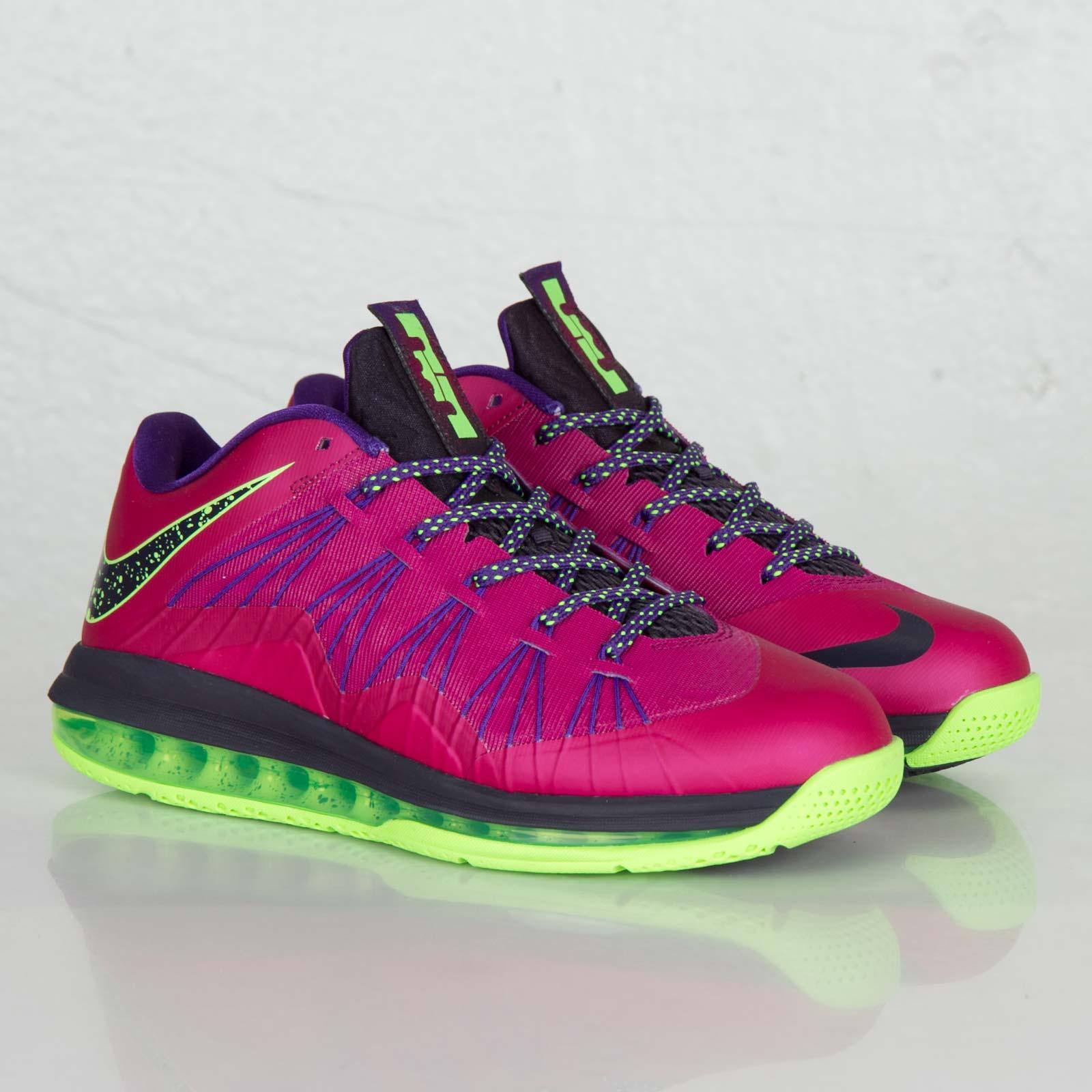 aa64280676d Nike Air Max Lebron X Low - 579765-601 - Sneakersnstuff
