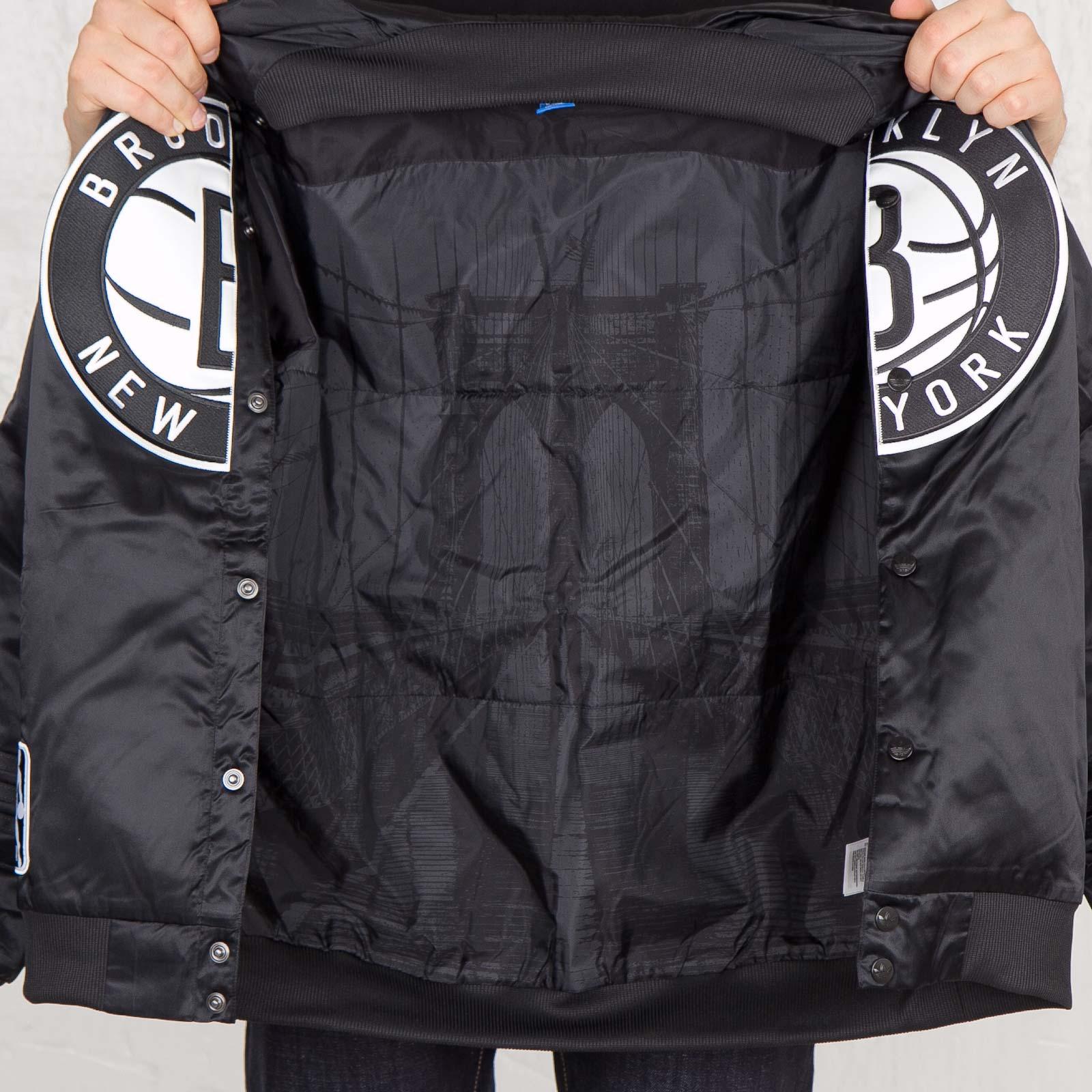 2e321d5dadc adidas NBA Brooklyn Nets Jacket - G76321 - Sneakersnstuff | sneakers &  streetwear online since 1999