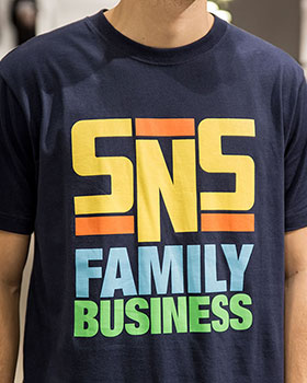 SNS Family Business Tee detail