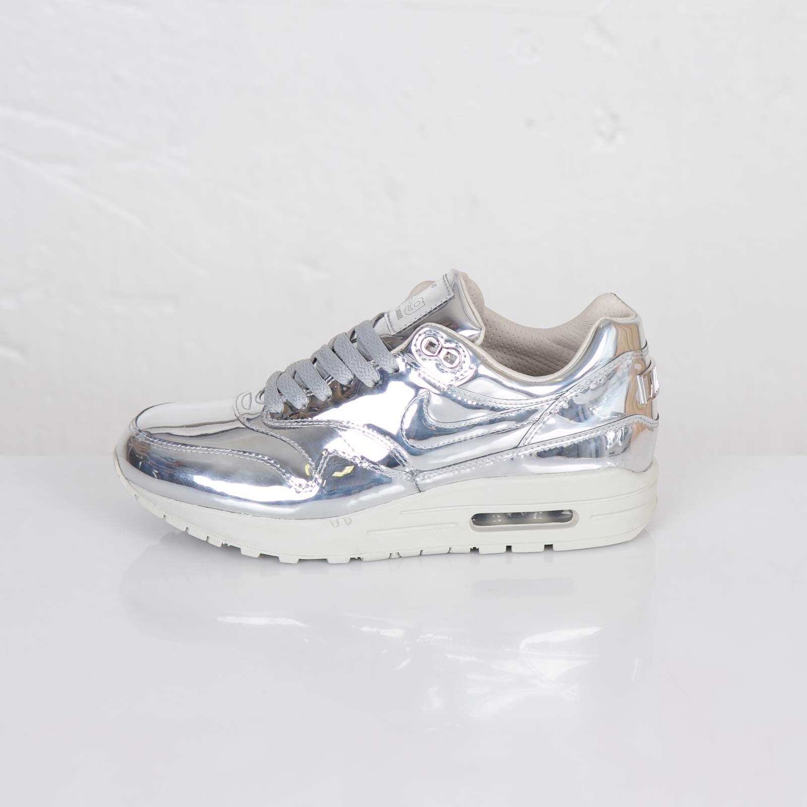 Details about Nike WMNS Air Max 1 SP Liquid Metal Metallic Silver 616170 090
