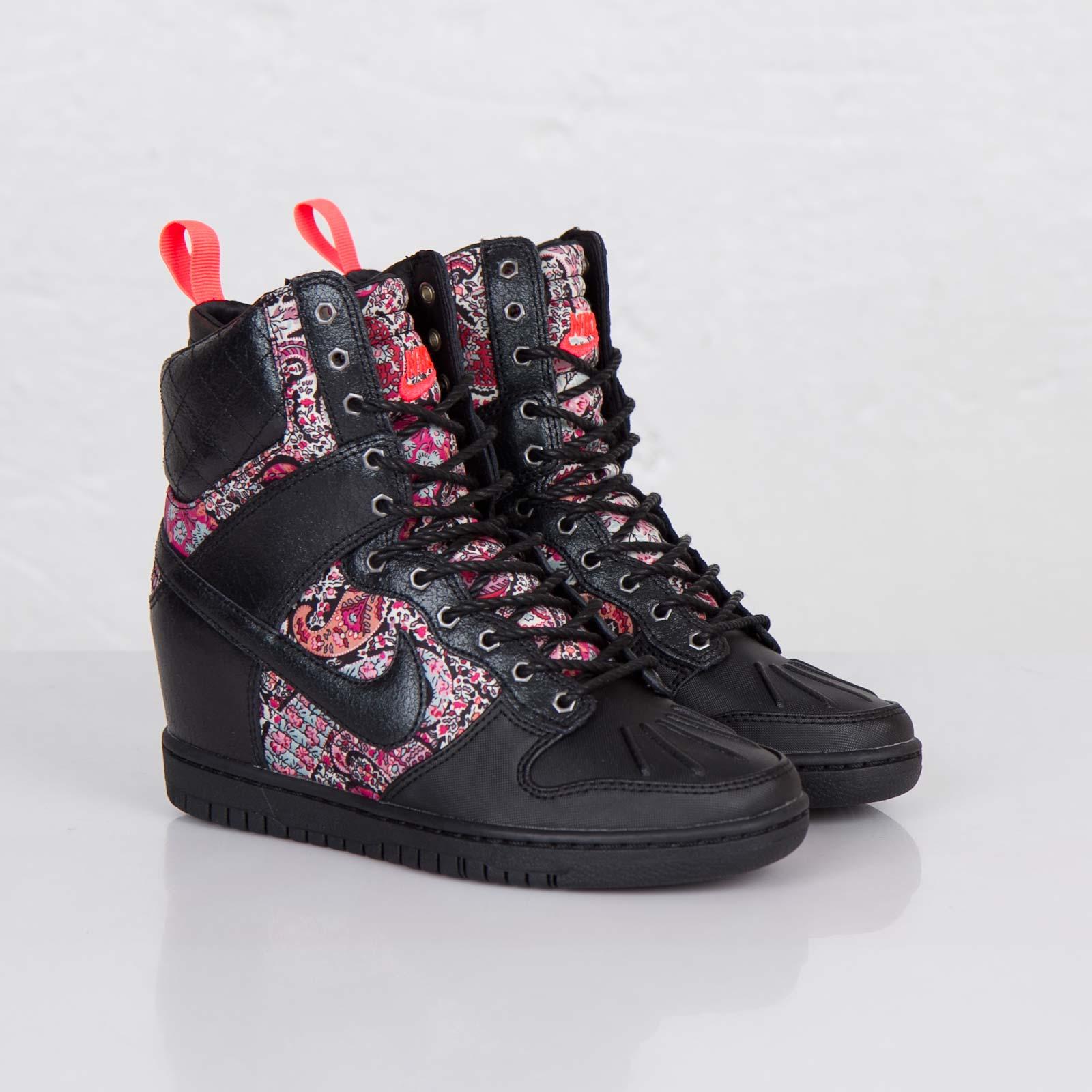 super popular 9beeb 2c954 Nike Wmns Dunk Sky Hi Sneakerboot Liberty QS - 632180-006 ...
