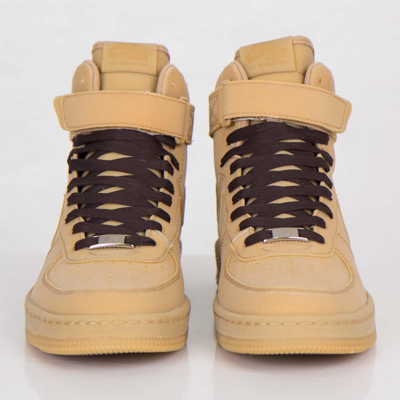 competitive price de7d6 07b0f Nike Air Force 1 Downtown Hi Gum LW QS - 638140-900 - Sneakersnstuff    sneakers   streetwear online since 1999