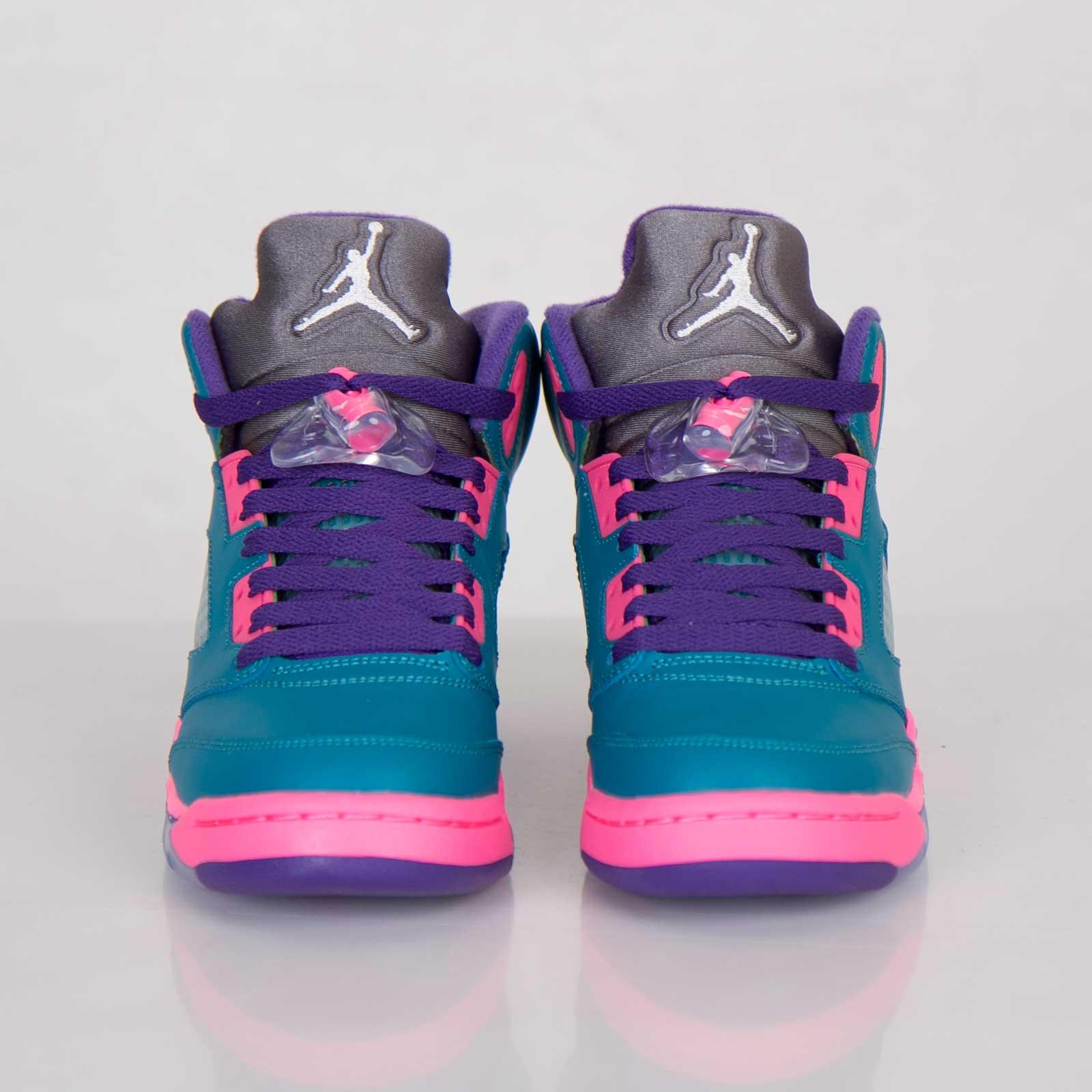 02f093df558ce0 Jordan Brand Girls Air Jordan 5 Retro (GS) - 440892-307 - Sneakersnstuff