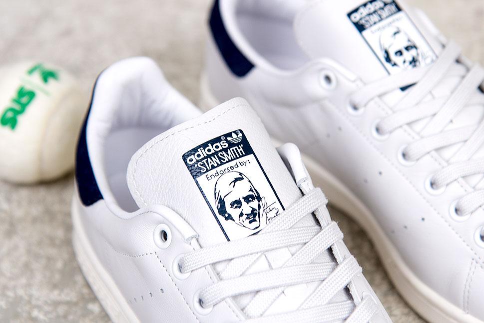 Adidas Stan Smith (Neo WhiteNeo WhiteNew Navy) Consortium.