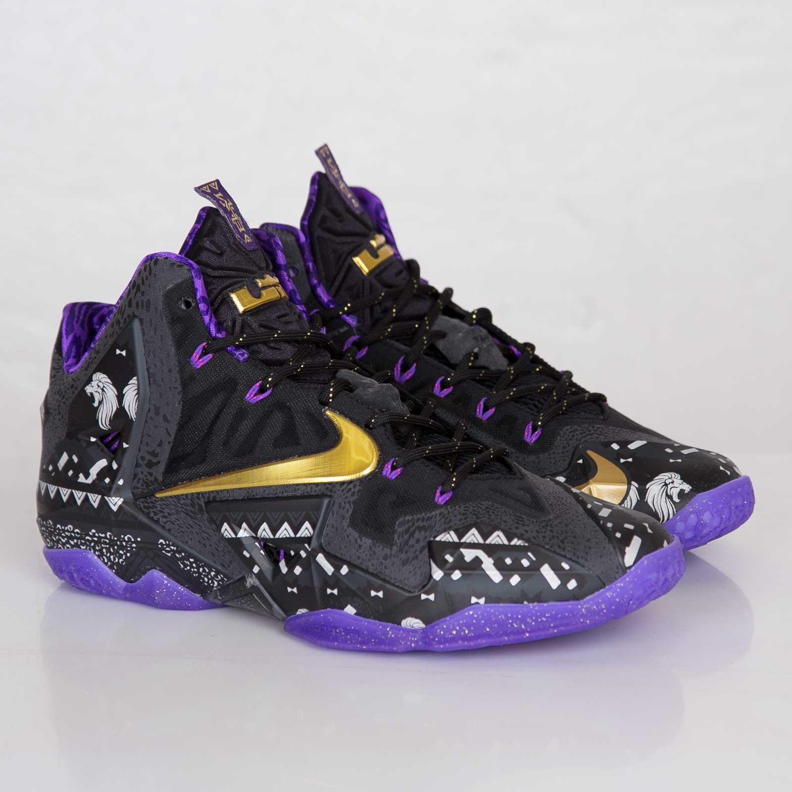 88a9f320b90 Nike Lebron Xl BHM - 646702-001 - Sneakersnstuff