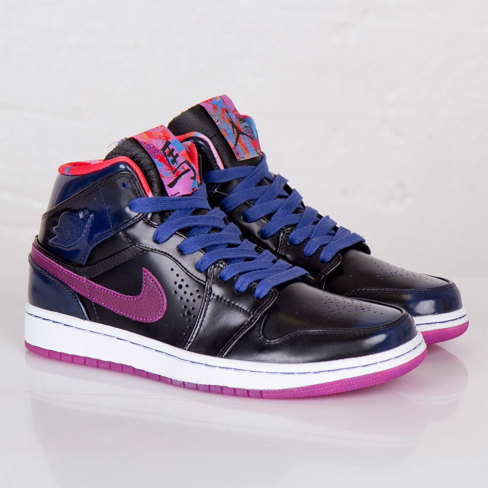 Jordan Brand Air Jordan 1 Mid Nouveau YOTH - 652484-405 - SNS ...