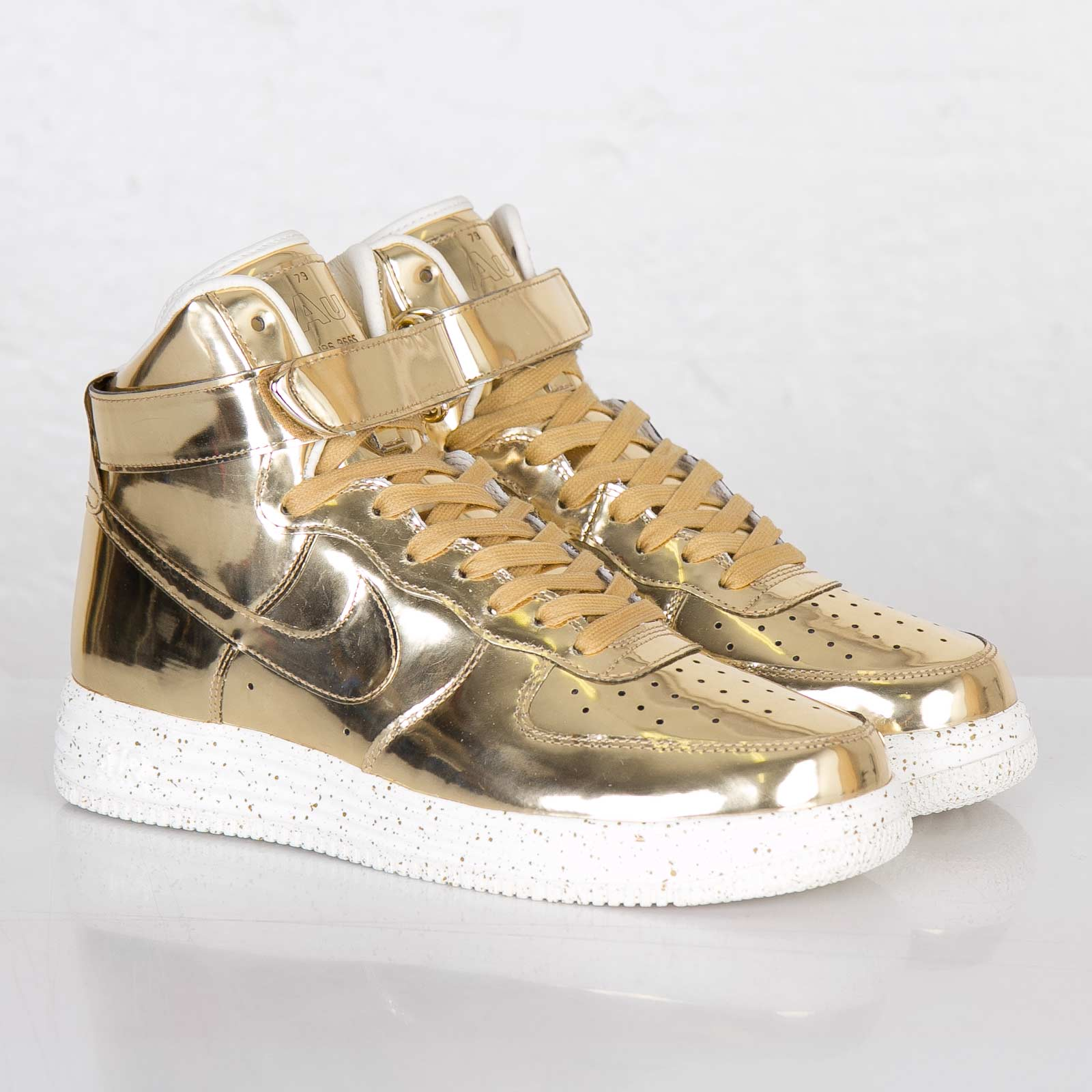 Lunar Force 1 Hi Sp liquid Gold Nike 652845 770