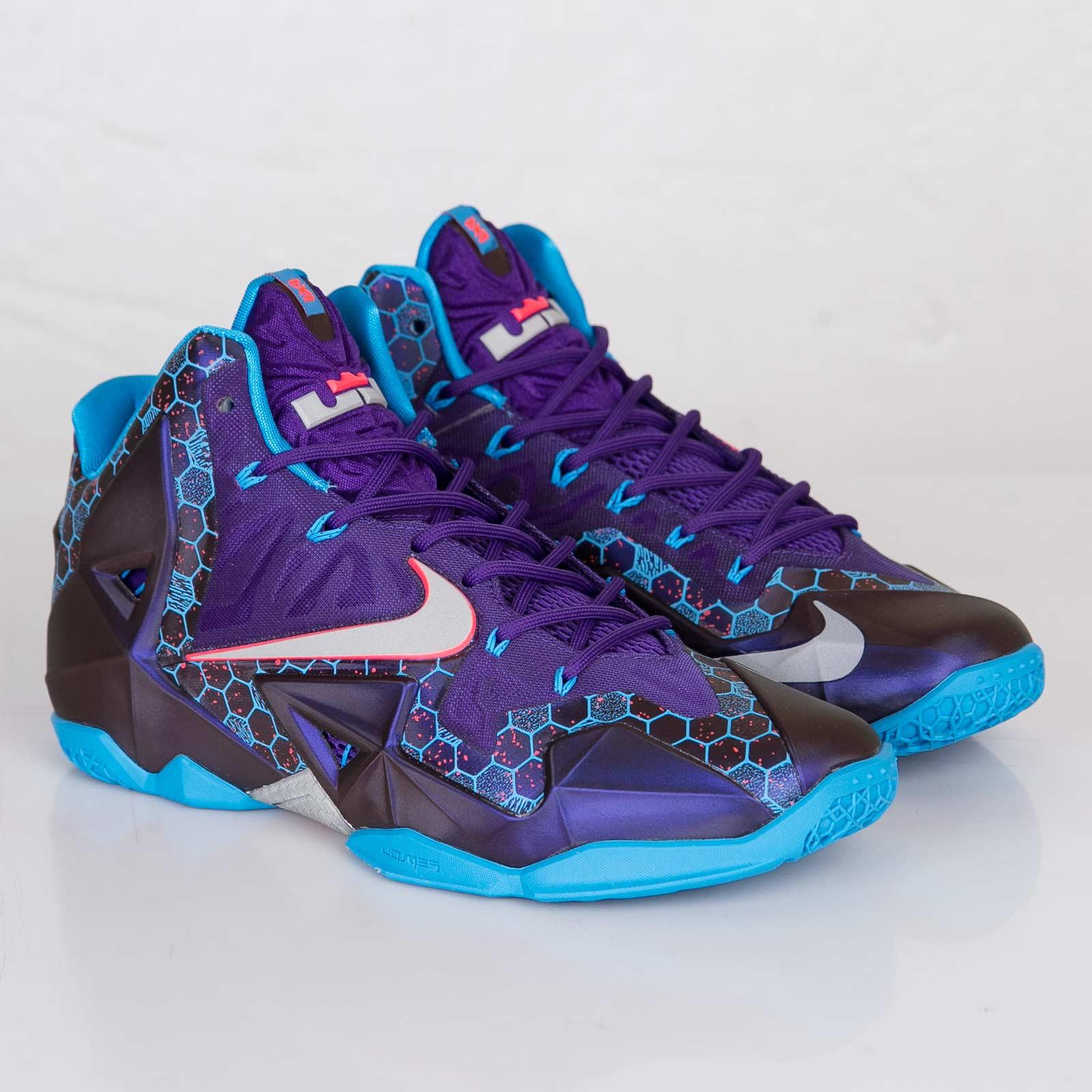 0f4c2ae1e6f37c Nike Lebron XI - 616175-500 - Sneakersnstuff