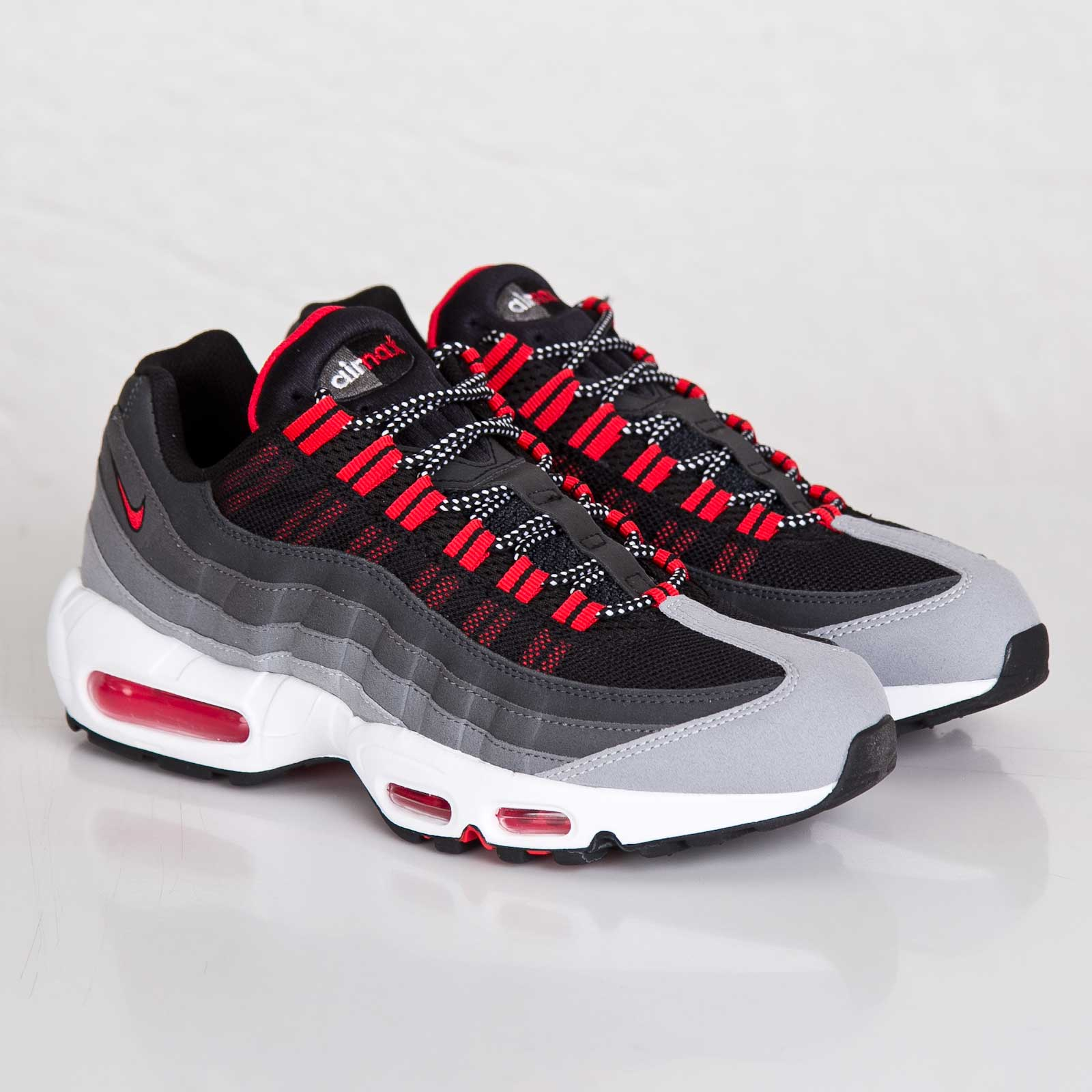 air max 95 wolf grey red