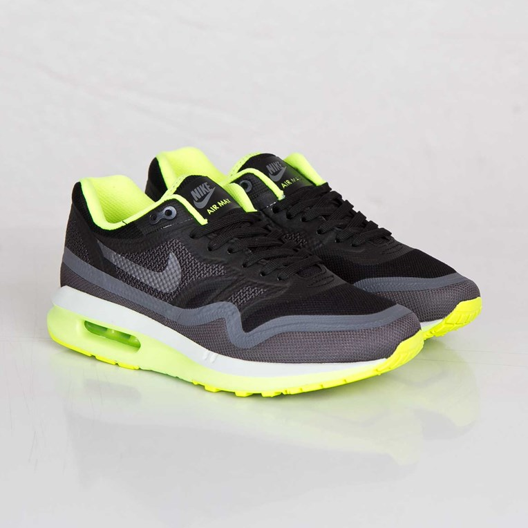 Details about Nike Air Max 95 Lunar1 Women's Shoes Black Dark Grey Volt Platinum 654937 002