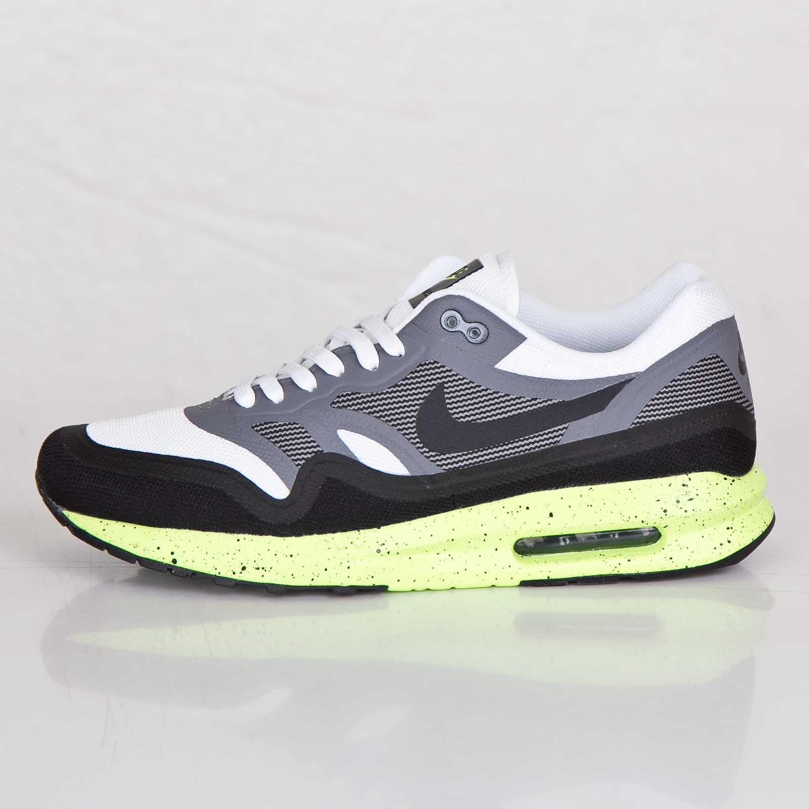 Mens Shoes Nike Air Max Lunar1 White Black Volt 654469 100 654469 100