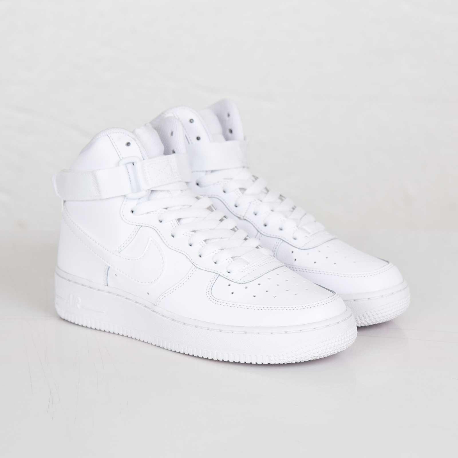 Nike Air Force 1 High (GS) - 653998-100