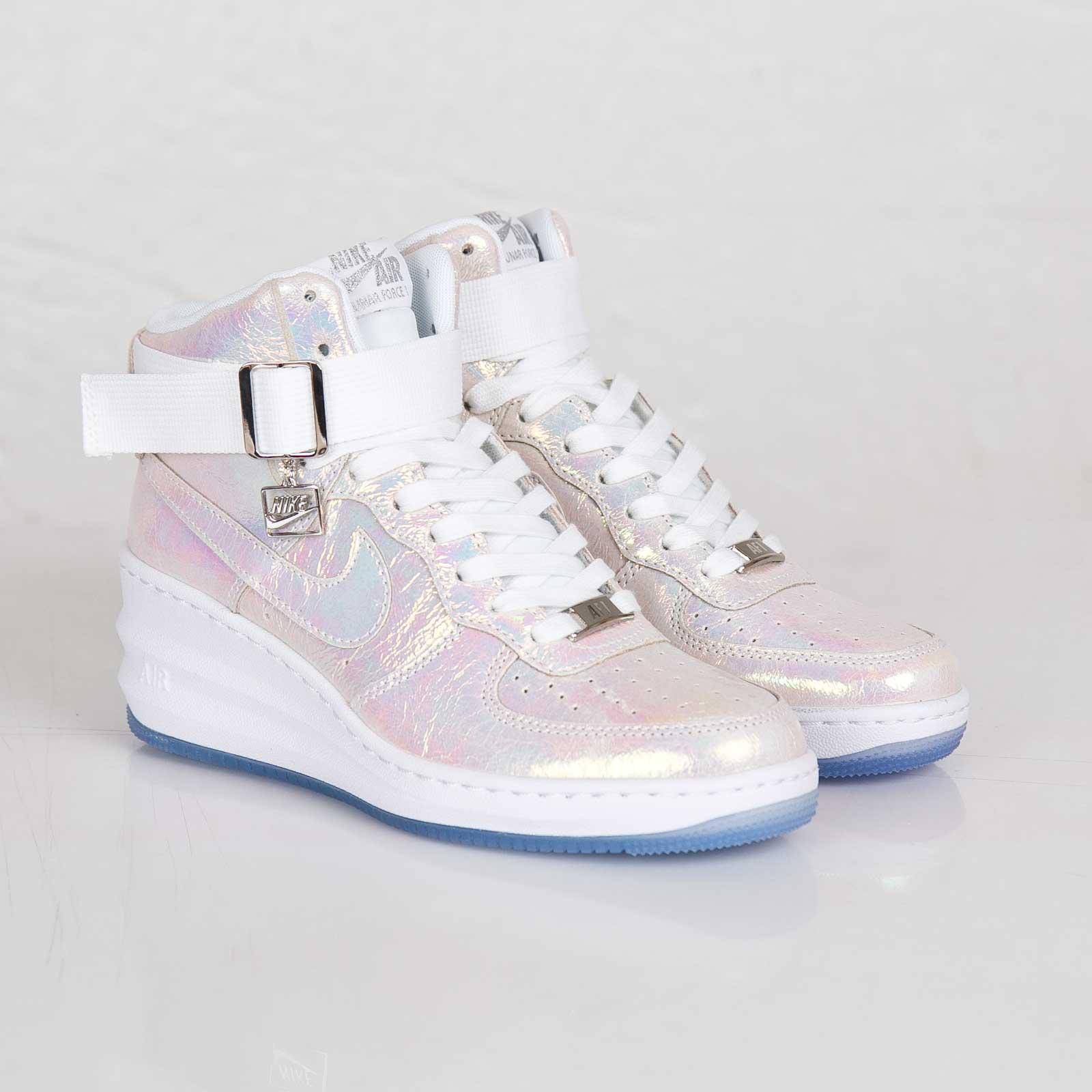 half off 82a21 781e6 Nike Wmns Lunar Force 1 Sky Hi Premium QS