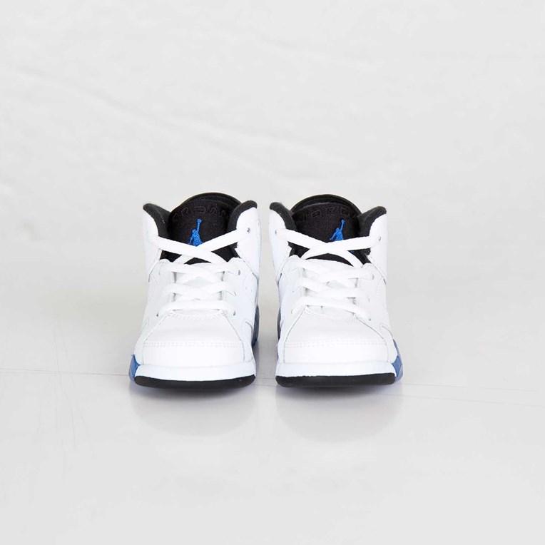 c55ed300cf74 Jordan Brand Air Jordan 6 Retro (TD) - 384667-107 - Sneakersnstuff ...