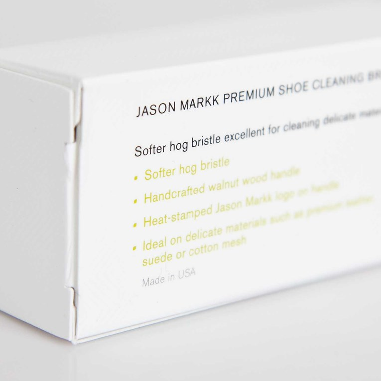 Jason Markk Premium Shoe Cleaning Brush - 3